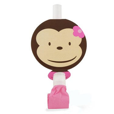 Pink Mod Monkey Blowouts