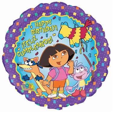 Dora the Explorer Foil Balloon