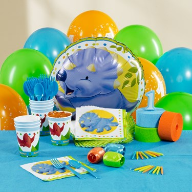 Little Dino 1st Birthday Personalized Party Theme