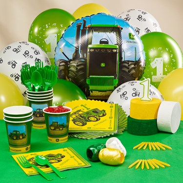 John Deere 1st Birthday Personalized Party Theme