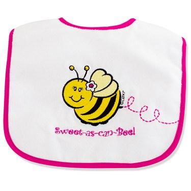 Sweet-As-Can-Bee Bib