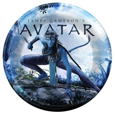 Avatar Movie Dessert Plates