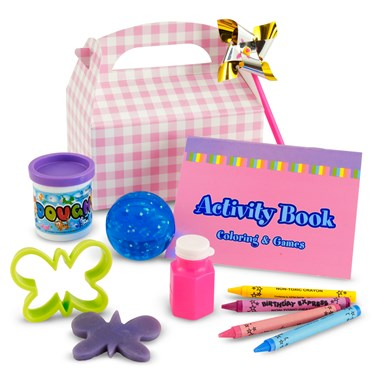 Girl's Little 1 Party Favor Box