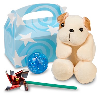 Lil' Prince 1st Birthday Filled Party Favor Box