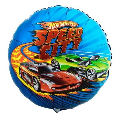 Hot Wheels Speed City Foil Balloon