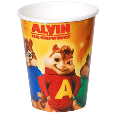 Alvin and the Chipmunks 9 oz. Paper Cups