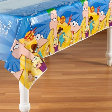 Disney Phineas and Ferb Plastic Tablecover