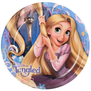 Disney Tangled Dinner Plates