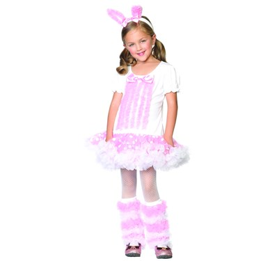 Fluffy Bunny Toddler / Child Costume