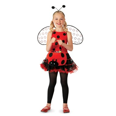 Ruffled Lady Bug Child/Tween Costume