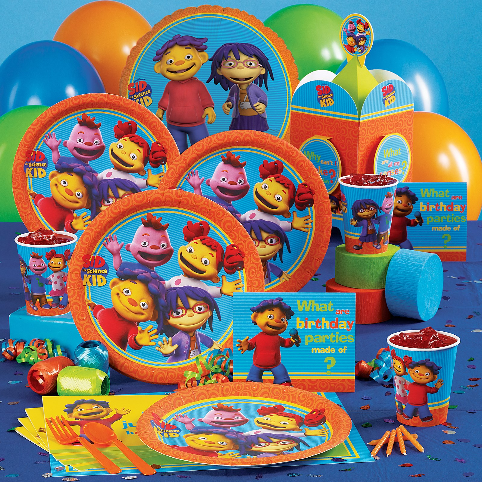 Sid The Science Kid Party Supplies Birthdayexpress Com