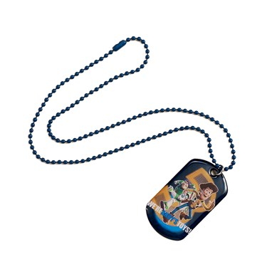 Disney Toy Story Dog Tag Necklace