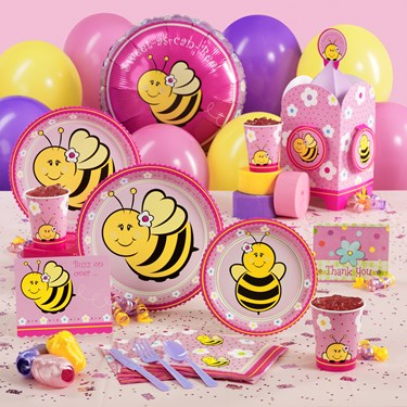 Sweet-As-Can-Bee Baby Shower Party Supplies