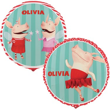 Olivia Foil Balloon
