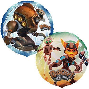 Ratchet and Clank Foil Balloon