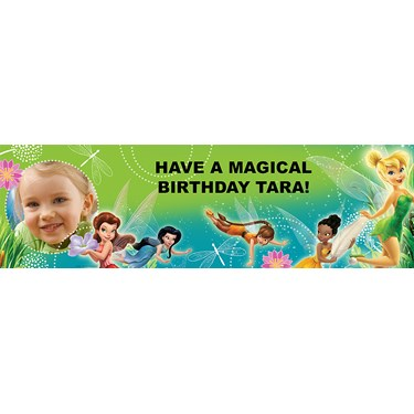 Disney Fairies Personalized Photo Banner