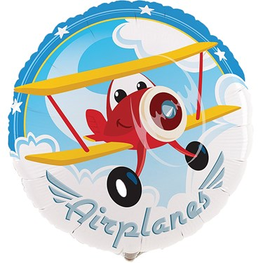 """Airplane Adventure 18"""" Foil Balloon"""