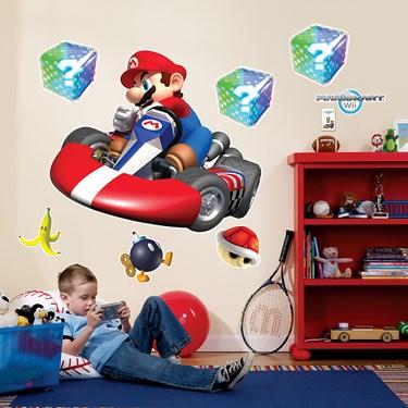 Mario Kart Wii Giant Wall Decals