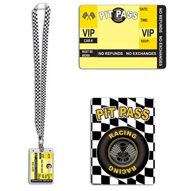 """25"""" Racing Pit Pass"""