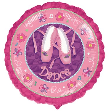 Twinkle Toes Foil Balloon