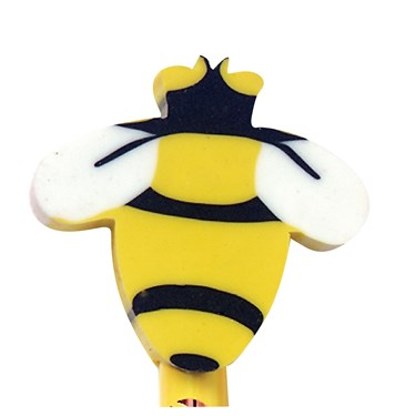 Bee Eraser Toppers (8)