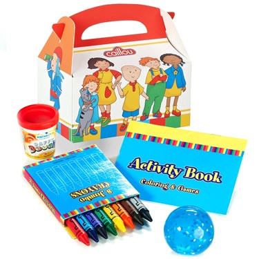 Caillou Filled Party Favor Box