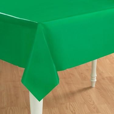 Emerald Green (Green) Plastic Tablecover