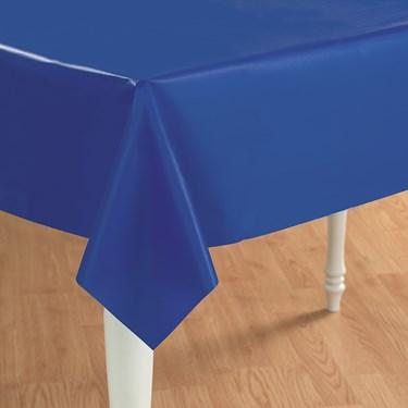 True Blue (Blue) Plastic Tablecover