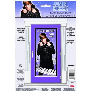 5' Justin Bieber Door Poster