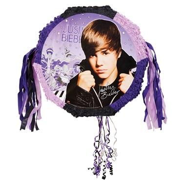 Justin Bieber Pull-String Pinata