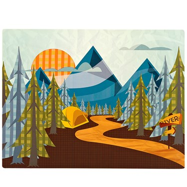 Let's Go Camping Activity Placemats