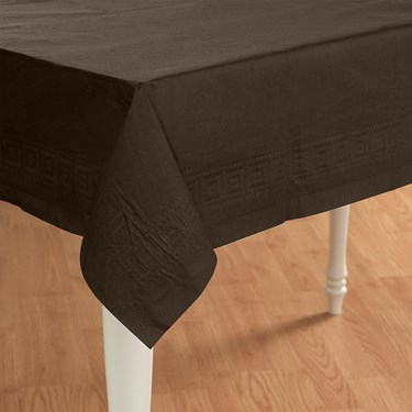 Chocolate Brown (Brown) Paper Tablecover