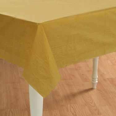 Glittering Gold (Gold) Paper Tablecover