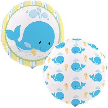 Whale of Fun Foil Balloon