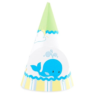 Whale of Fun Cone Hats