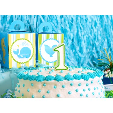 Whale of Fun 1st Birthday Party Packs