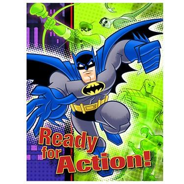 Batman Brave and Bold Invitations