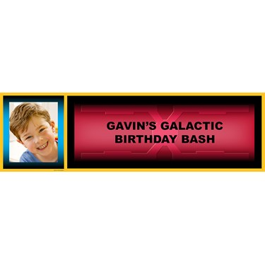 Galaxy Wars Personalized Photo Banner