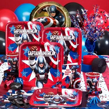 Captain America Party Supplies