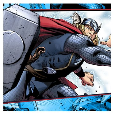 Thor: The Mighty Avenger Lunch Napkins