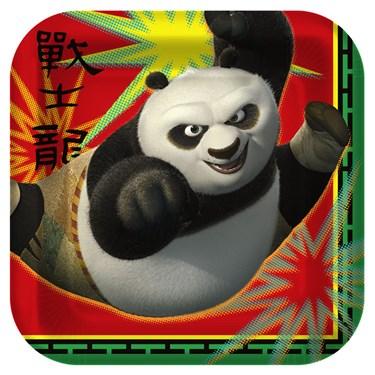 Kung Fu Panda 2 Square Dessert Plates