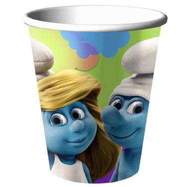 Smurfs 9 oz. Paper Cups