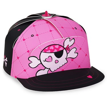 Pink Skull Trucker Hat