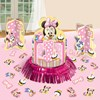 Disney Minnie's 1st Birthday Centerpiece