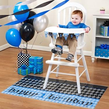 Lil' Rebel 1st Birthday High Chair Decorating Kit