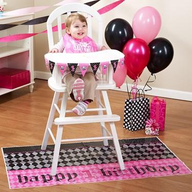 Lil' Angel 1st Birthday High Chair Decorating Kit