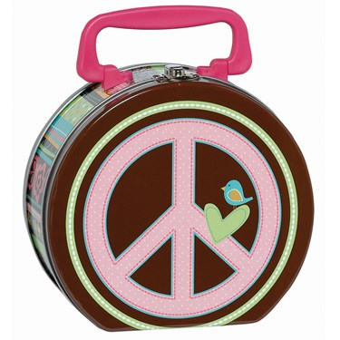 Hippie Chick Tin Box Carry All