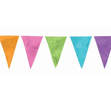 Summer Large Outdoor Pennant Banner