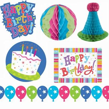 Radiant Sparkle Birthday Decorating Kit