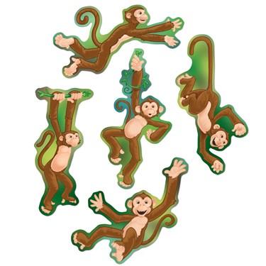 Mini Monkey Cutouts